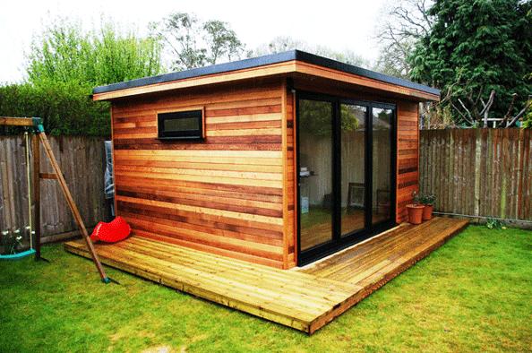Garden offices simon bowler for Modern garden office