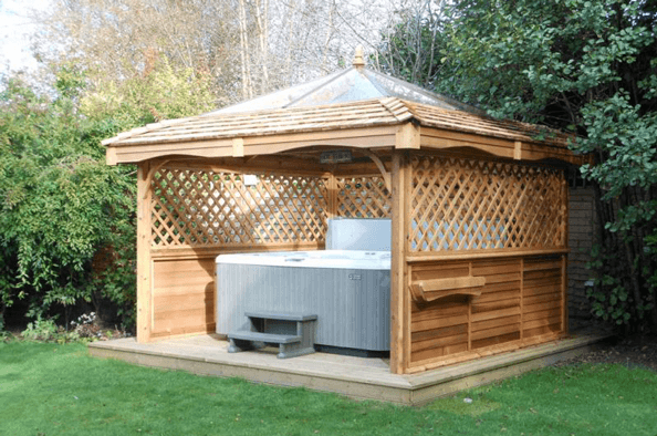 Yorkshire Hot Tub Surrounds From 3495