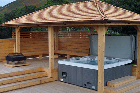Yorkshire Hot Tub Surrounds From 5495