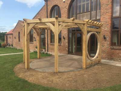 Thirsk Wooden Pergola