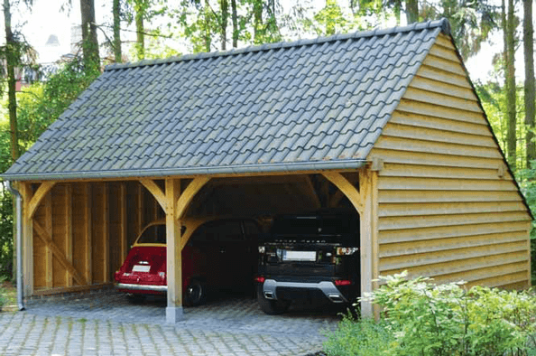 Yorkshire Wooden Garages From 7495